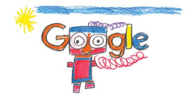 "Ireland Doodle 4 Google 2017 Winner! - ""My Happy Robot Tom"" by Erica Redmond, Dublin"