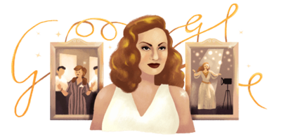 Hind Rostom's 87th Birthday