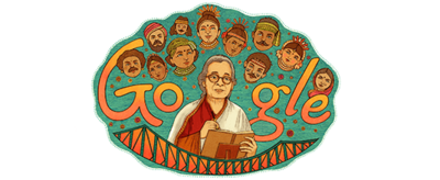 Mahasweta Devi's 92nd birthday