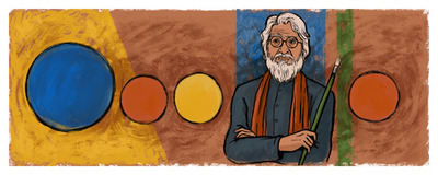 M.F. Husain's 100th Birthday